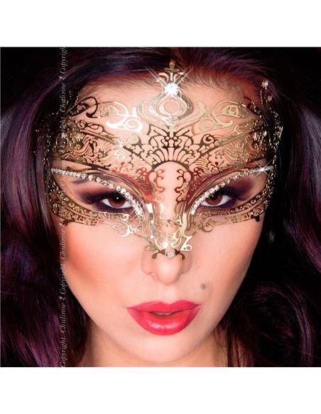 Máscara Cr-3805 Dourada - PR2010339837