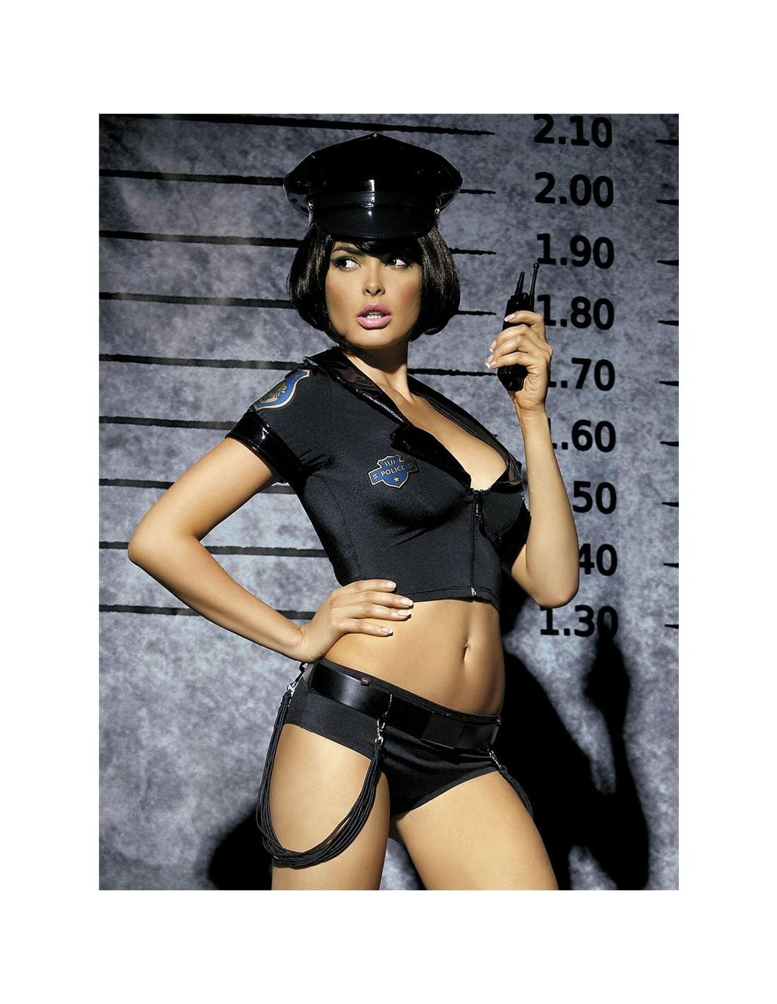 Fantasia Polícia Obsessive - 36-38 S/M - PAOB0922